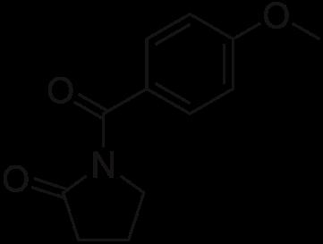 Aniracetam Chemical Structure