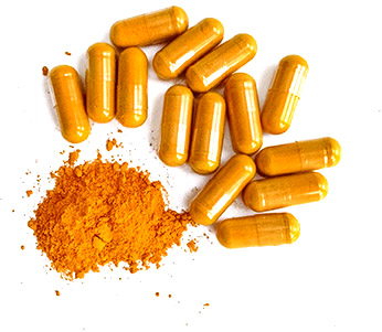 Curcumin Capsules and Powder