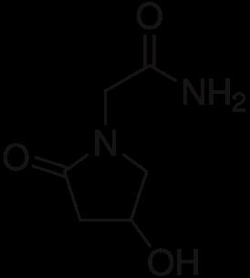 Oxiracetam Chemical Structure
