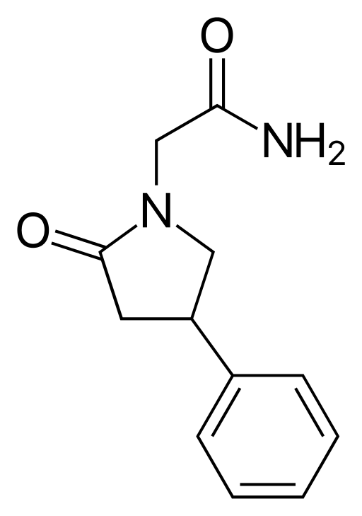 Phenylpiracetam Chemical Structure